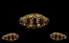 Antique Period - Attractive 9ct Gold Ame