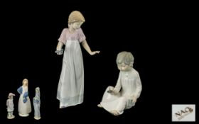 A Collection of Porcelain Figures 1. Nao