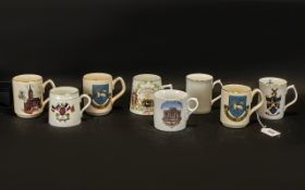 Collection of Commemorative Mugs to incl