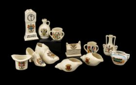 A Small Collection of Crested Ware to in