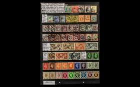 Stamps GB Collection from 1902 Kind Edw