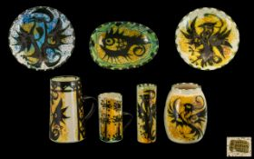 Celtic Pottery Cornwall Collection of De
