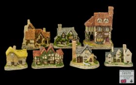 David Winter Collection Cottages all han