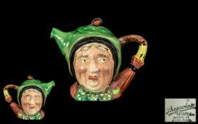 Beswick Ware Teapot modelled as 'Sairey