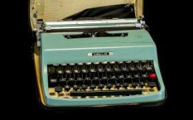 Portable Olivetti Lettra 32 Portable Typ