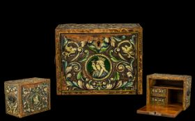 European 19th Century Carved and Painted
