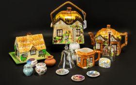 Collection of Vintage Cottage Ware Potte