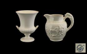 Large Wedgwood Urn & Jug - Both pieces are Etruria & Barlaston.