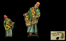 Royal Doulton Figure ''The Carpet Seller'' HN1464. Height 9 inches.
