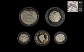 Royal Mint United Kingdom 2010 Ltd Edition and Numbered Edition Boxed Set of Proof Struck Silver