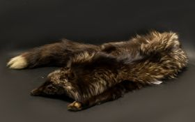 Vintage Fox Fur Stole. In good condition. Please see images.