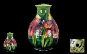William Moorcroft Signed Tube lined Glob