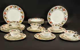 Royal Crown Derby Six Setting Dinner Set