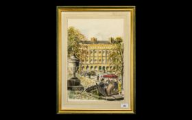 George Bath Watercolour. 20th Century p