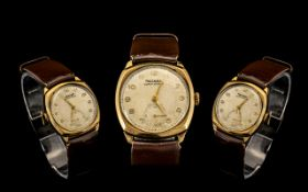 Rotary Super Sports Gents 9ct Gold Cased