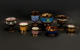 A Collection of Antique Staffordshire C