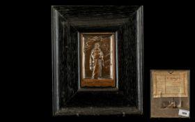Camera Club Bronze Presentation Plaque -
