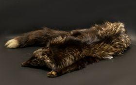 Vintage Fox Fur Stole. In good condition