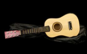 Irin Beginner's Acoustic Guitar in case.