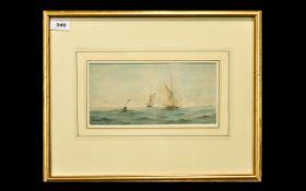 Richmond Markes (fl.1890-1920) Watercolo