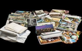 Large Boxed Collection of Postcards main