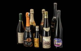 Collection of Vintage Wines comprising 8