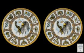 Two Goebel Traditions Plates x2.