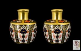 Royal Crown Derby Excellent Quality Pair