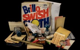 A Mixed Lot of Ephemera and Collectables