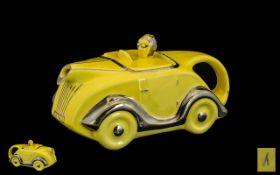 ' Sadlers ' 1930's Canary Yellow Glazed