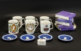 12 Assorted Commemorative Silver Jubilee