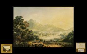 Thomas Baxter Period Print titled 'Lucer