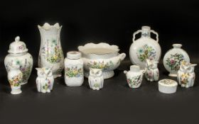 A Small Collection of Aynsley Wild Tudor