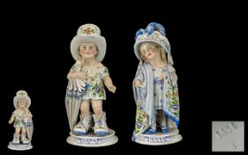 A Fine Pair of German 19th Century Hand