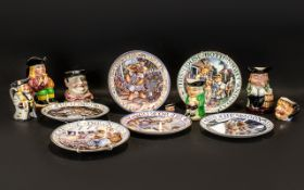 Mixed Lot Of Pottery To Include 6 Royal