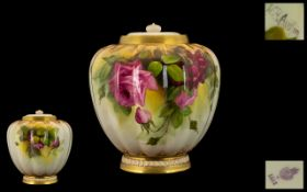 Royal Worcester Hand Painted and Large a