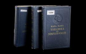 Late 1960's printing of Karl Marx Theori