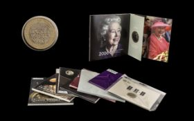 The Royal Mint Collection Of Modern Commemorative Coins To Include 2 x 2009 Henry VIII £5 Brilliant