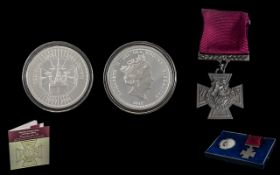 "The Bradford Exchange ""The First World War Victoria Cross"" Commemorative Set,"