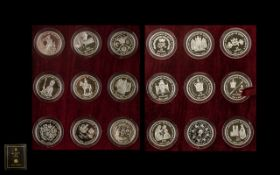 Royal Mint Queen Elizabeth II 40 th Anniversary - Issued 1993 Coronation Crown Collection.