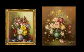 Pair of Still Life Flower Pictures.
