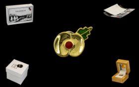 Royal British Legion Passchendaele 100 Pin in original box and presentation case.