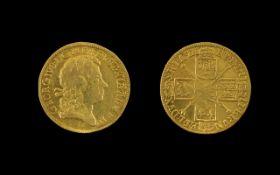 George I (1714-27) Gold Guinea, 1717 Third Laureate Head Right,