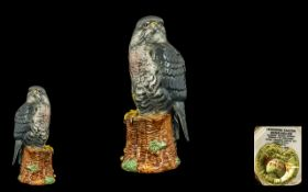 Beswick 'Peregrine Falcon' Beneagles Whisky Flask, Blended Scotch Whisky for Peter Thompson,