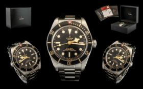 Tudor Heritage Black Bay 58 Gents - Divers Automatic Chronometer Stainless Steel Wrist Watch with