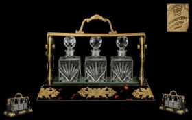 Reproduction - Top Quality and Stunning Betjemanns Perfume Bottle Tantalus. c.1900-1910.