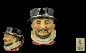 Royal Doulton - Early Hand Painted Large