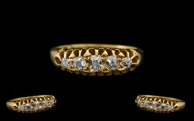 Antique Period 18ct Gold - Good Quality