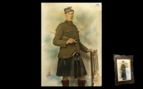 Scottish Highland Soldier From the First