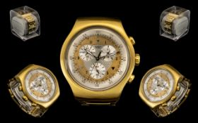 Swatch - Irony Stainless Steel Gold Colo